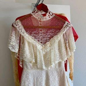 Vintage Wedding Lace Dress by Aria